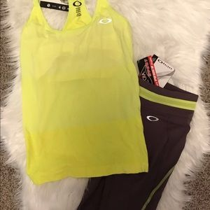 NWT Oakley Workout Outfit